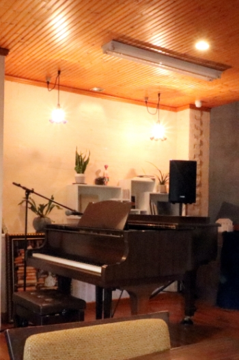 オープンスタジオのホール